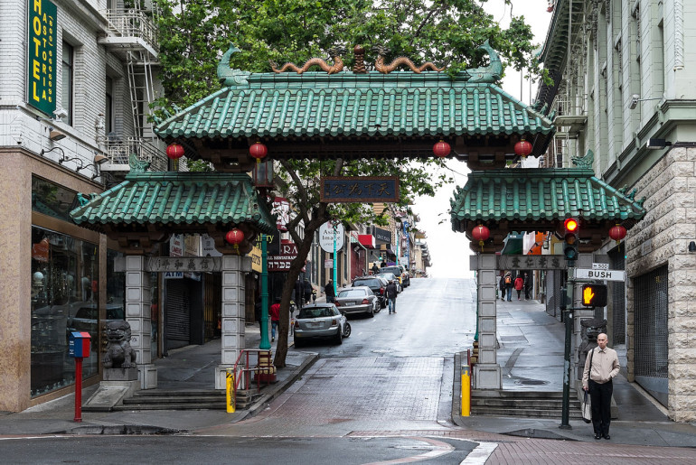 San_Francisco_Dragon_Gate_to_Chinatown